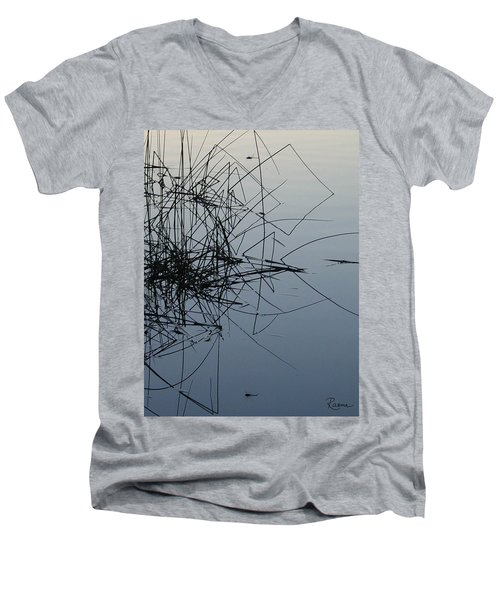 Dragonfly Reflections Men's V-Neck T-Shirt