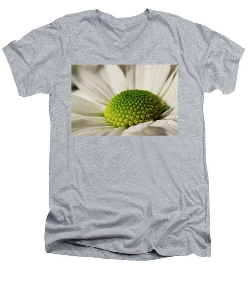 Dramatic Daisy Men's V-Neck T-Shirt