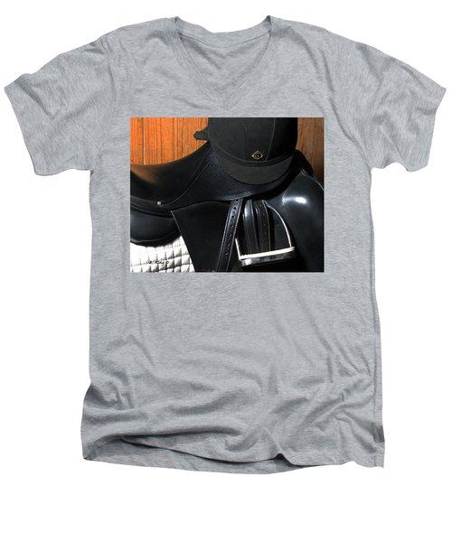 Drassage Ready Men's V-Neck T-Shirt