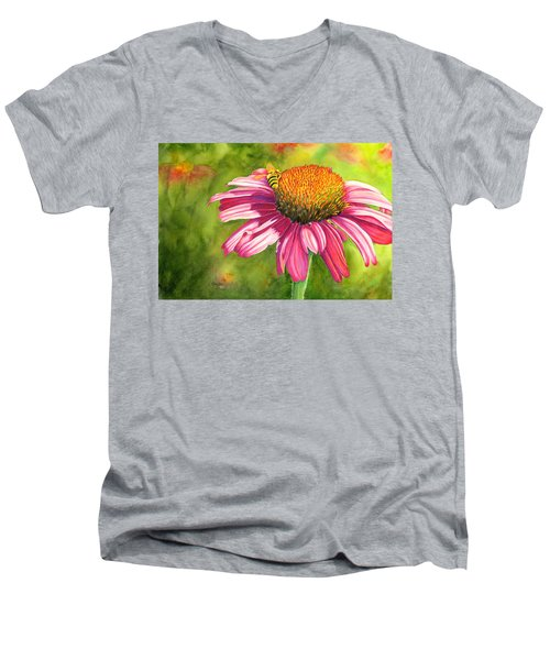 Drawn In Men's V-Neck T-Shirt