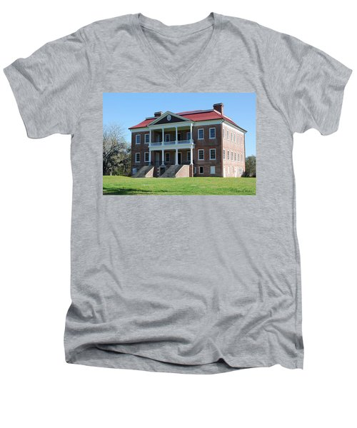 Drayton Hall Men's V-Neck T-Shirt