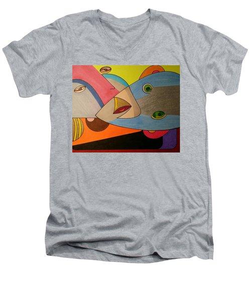Dream 334 Men's V-Neck T-Shirt