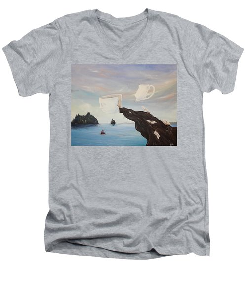 Dream Commute Men's V-Neck T-Shirt