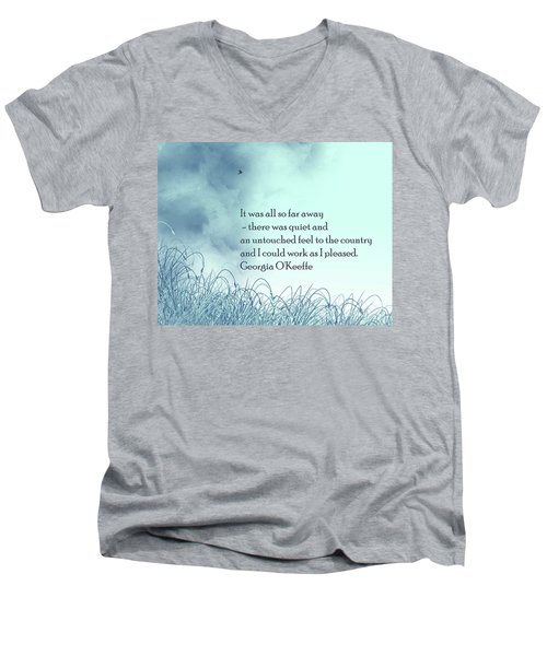 Dream Home Men's V-Neck T-Shirt