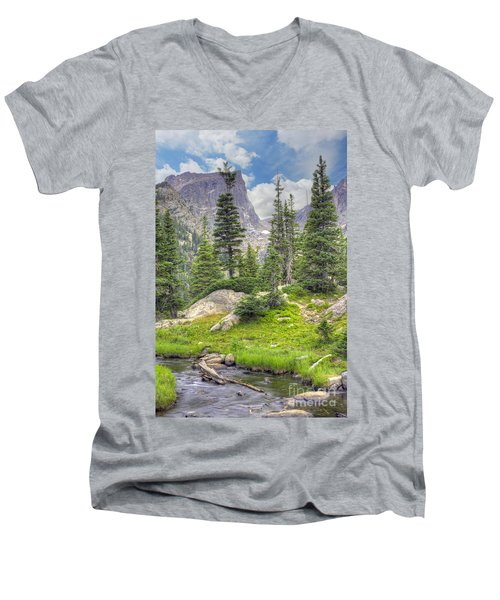 Dream Lake Men's V-Neck T-Shirt