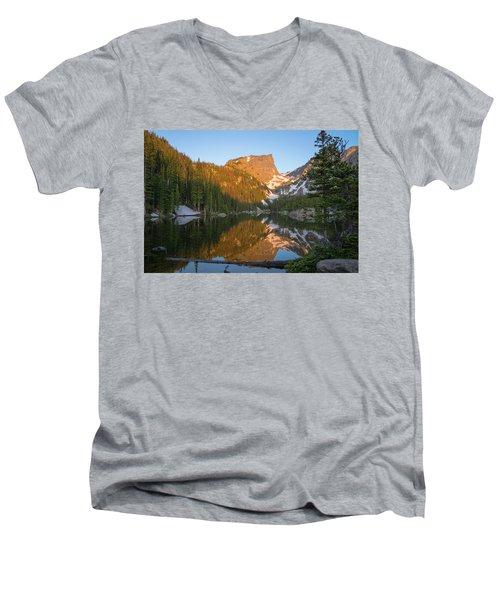 Dream Lake Men's V-Neck T-Shirt