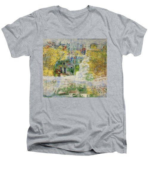 Dream Of Dreams. Men's V-Neck T-Shirt by Sima Amid Wewetzer