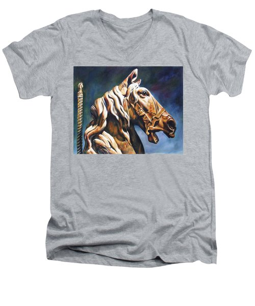 Dream Racer Men's V-Neck T-Shirt
