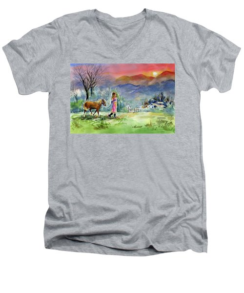 Dreaming Big Men's V-Neck T-Shirt