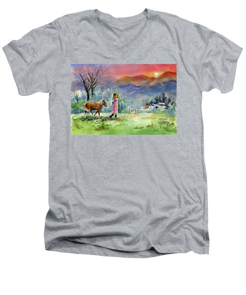 Dreaming Big Men's V-Neck T-Shirt
