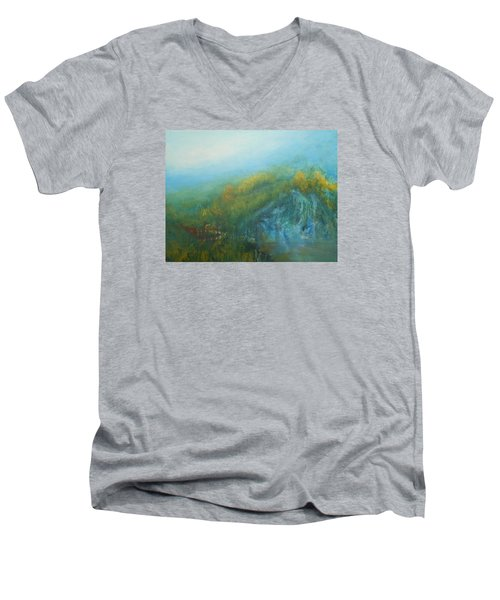 Dreaming Dreams Men's V-Neck T-Shirt by Jane See