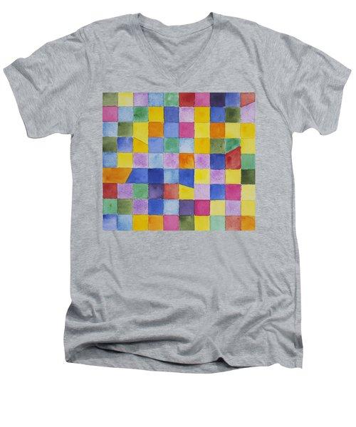 Dreaming In Encinitas Men's V-Neck T-Shirt