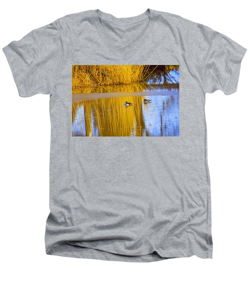 Dreaming Men's V-Neck T-Shirt by Leif Sohlman