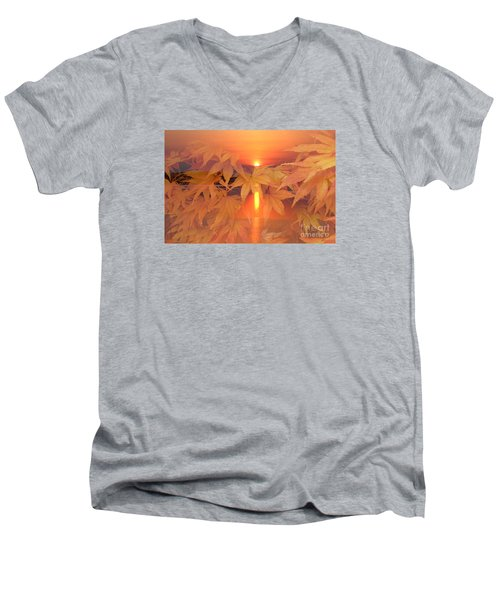 Dreaming Of Fall Men's V-Neck T-Shirt