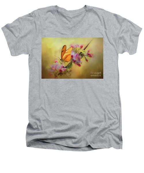 Dreaming Of Spring Men's V-Neck T-Shirt