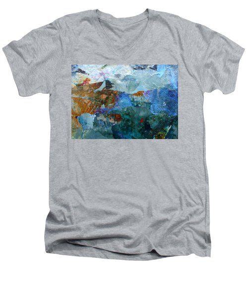 Dreamland Men's V-Neck T-Shirt by Mary Sullivan