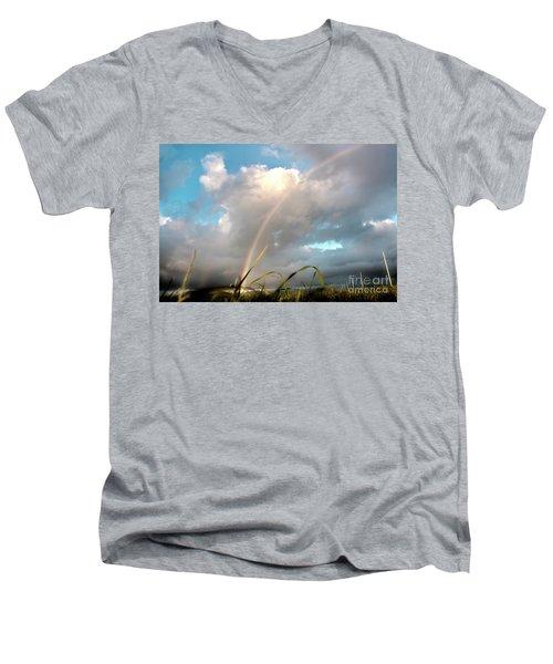 Dreams Of A Rainbow Men's V-Neck T-Shirt