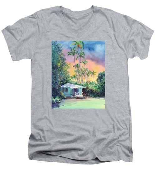 Dreams Of Kauai Men's V-Neck T-Shirt