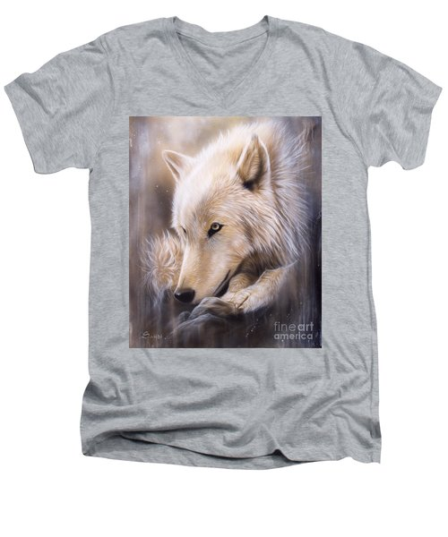 Dreamscape - Wolf Men's V-Neck T-Shirt