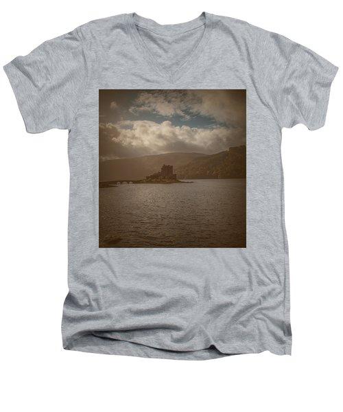 Dreamy Castle #g8 Men's V-Neck T-Shirt