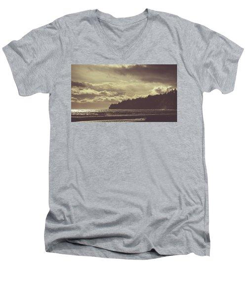 Dreamy Coastline Men's V-Neck T-Shirt