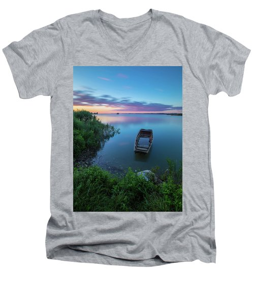 Dreamy Colors Of The East Men's V-Neck T-Shirt