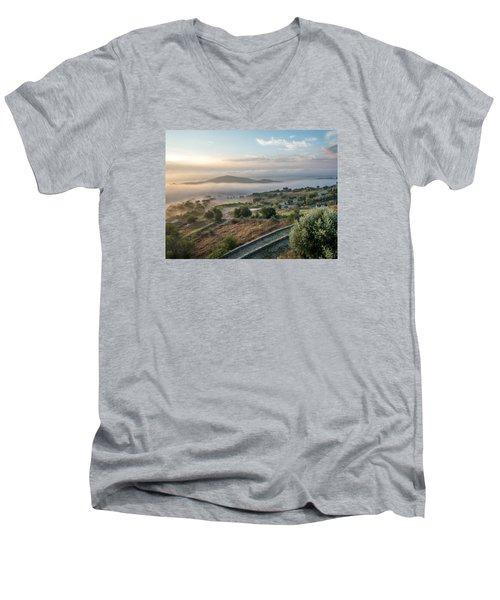 Dreamy Landscape Men's V-Neck T-Shirt