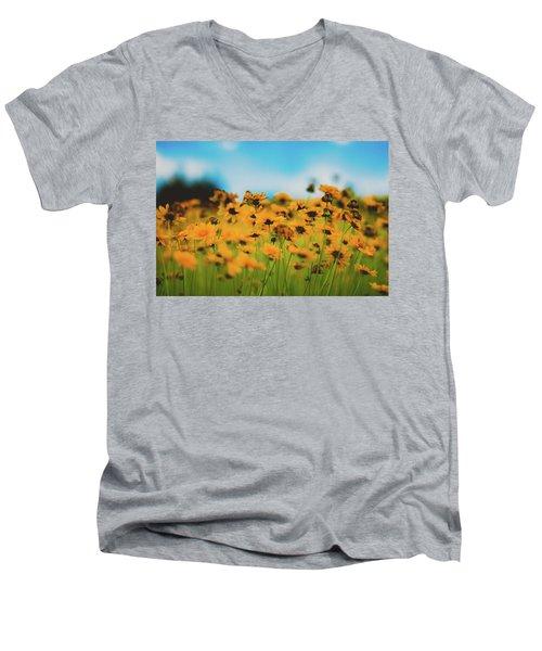Dreamy Summertime Men's V-Neck T-Shirt