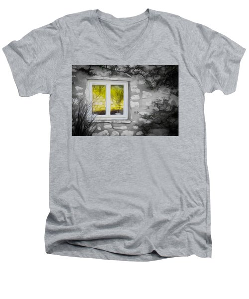 Dreamy Window Men's V-Neck T-Shirt