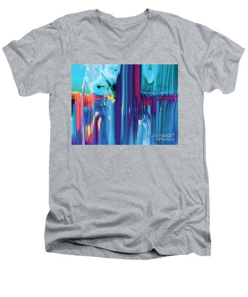 Drenched Men's V-Neck T-Shirt