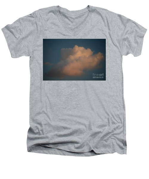 Men's V-Neck T-Shirt featuring the photograph Drift Away by Jesse Ciazza