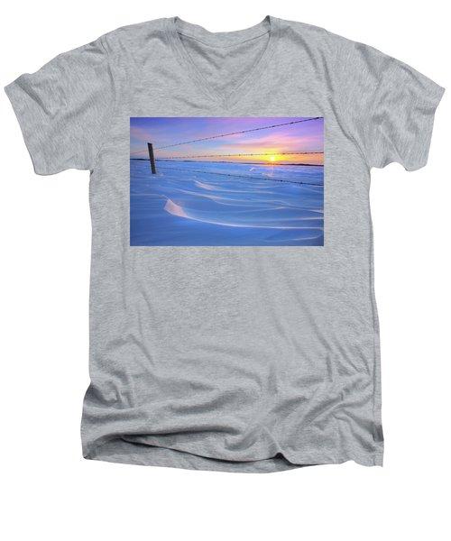Drifting Away Men's V-Neck T-Shirt by Dan Jurak