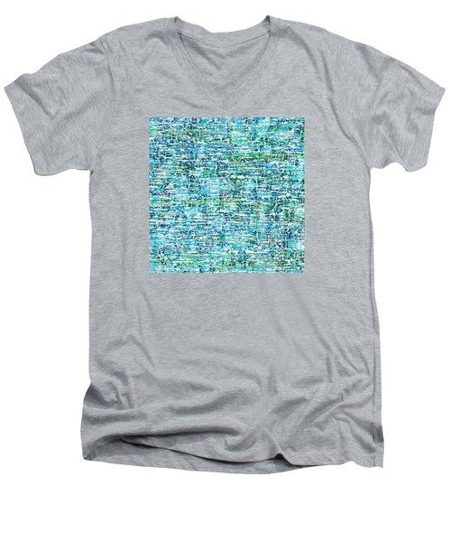 Drifting Men's V-Neck T-Shirt