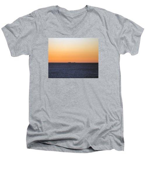 Drifting Through Men's V-Neck T-Shirt