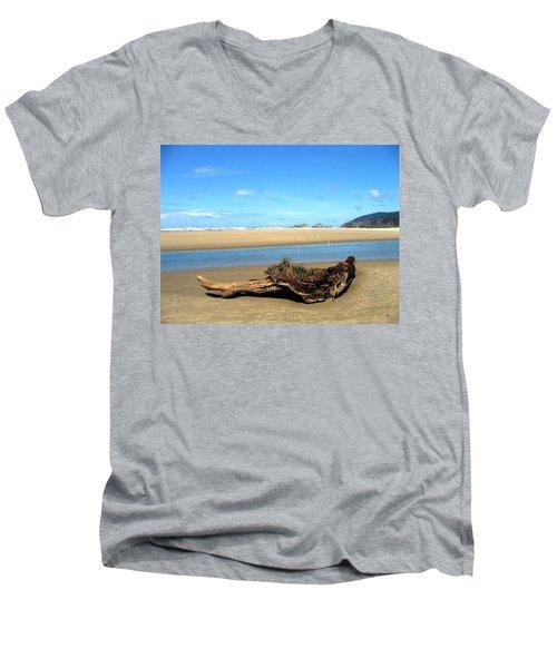 Driftwood Garden Men's V-Neck T-Shirt