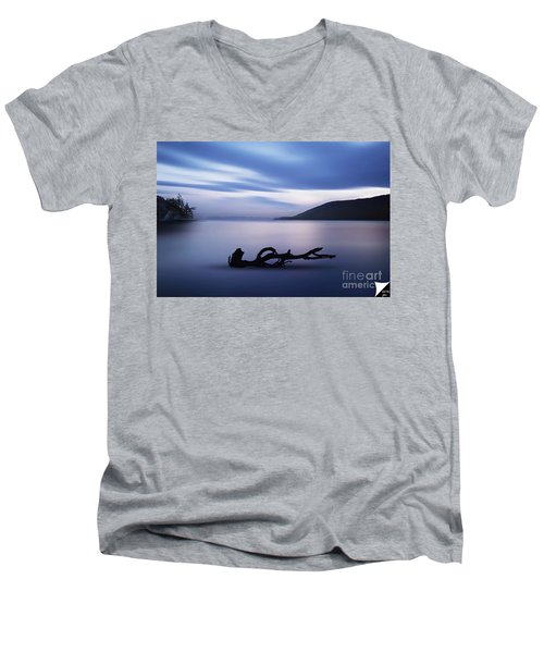 Driftwood Men's V-Neck T-Shirt by Jim  Hatch