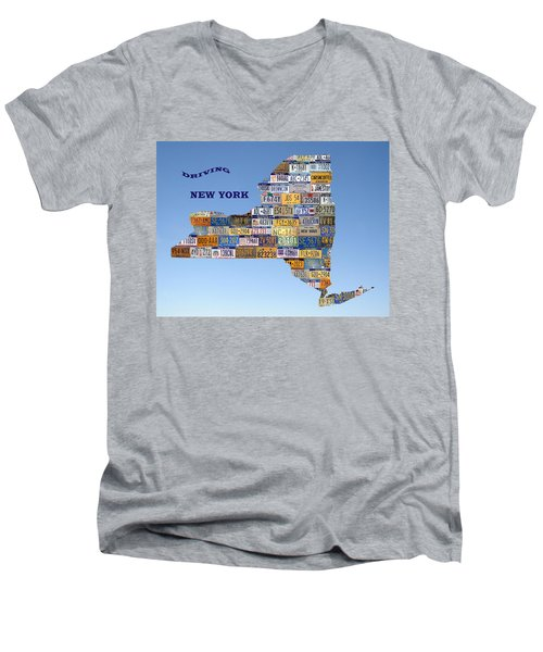 Driving New York Men's V-Neck T-Shirt