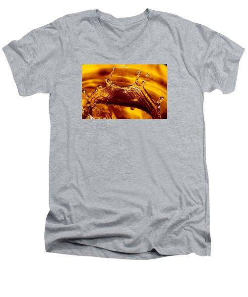 Drop Of Gold Men's V-Neck T-Shirt