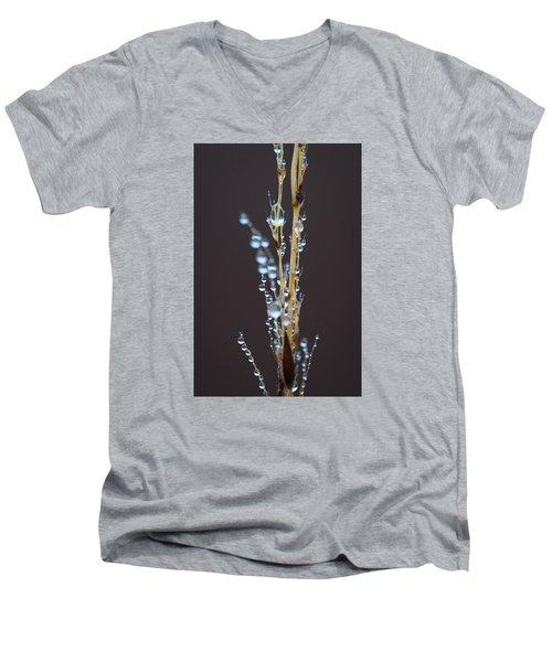 Droplets For Days Men's V-Neck T-Shirt by Nikki McInnes
