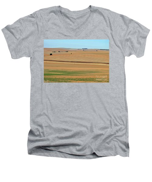 Drought-stricken South African Farmlands - 2 Of 3  Men's V-Neck T-Shirt