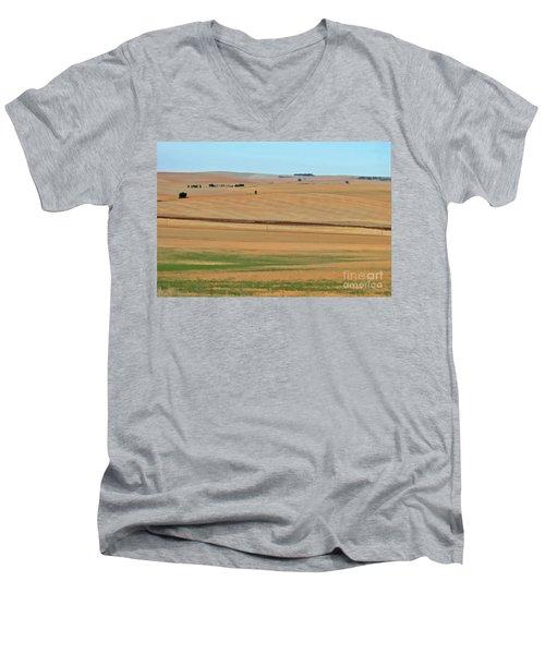 Drought-stricken South African Farmlands - 2 Of 3  Men's V-Neck T-Shirt