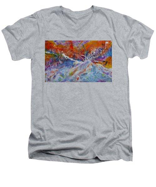 Drown Me In Love Men's V-Neck T-Shirt by Tracy Bonin