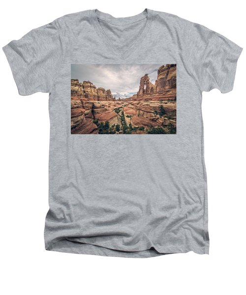 Druid Arch Men's V-Neck T-Shirt