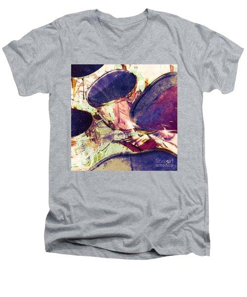 Drum Roll Men's V-Neck T-Shirt