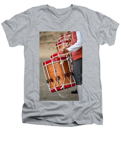 Drums Of The Revolution Men's V-Neck T-Shirt