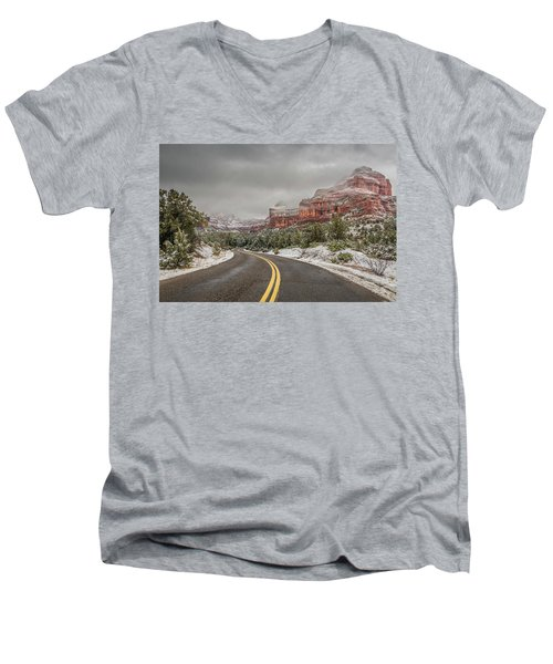 Boynton Canyon Road Men's V-Neck T-Shirt