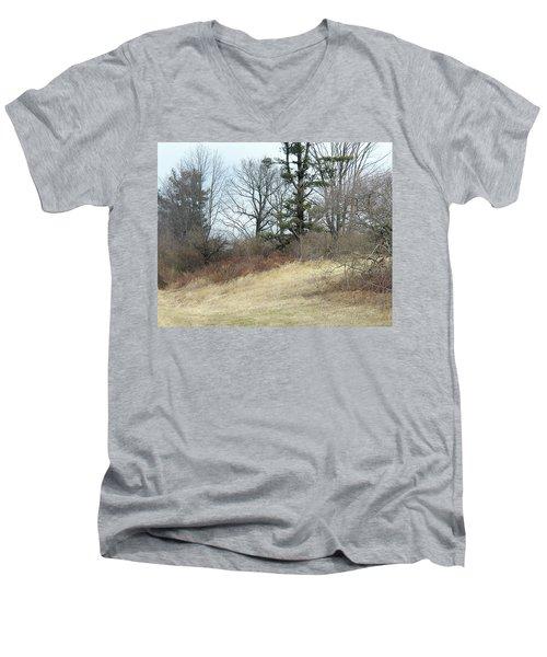 Dry Field Men's V-Neck T-Shirt