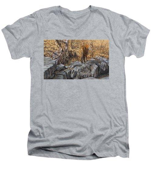 Dry, Hot And Irritable Men's V-Neck T-Shirt