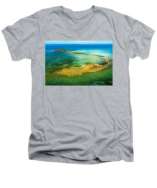Dry Tortugas Men's V-Neck T-Shirt