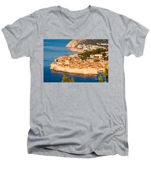 Dubrovnik Old City Men's V-Neck T-Shirt